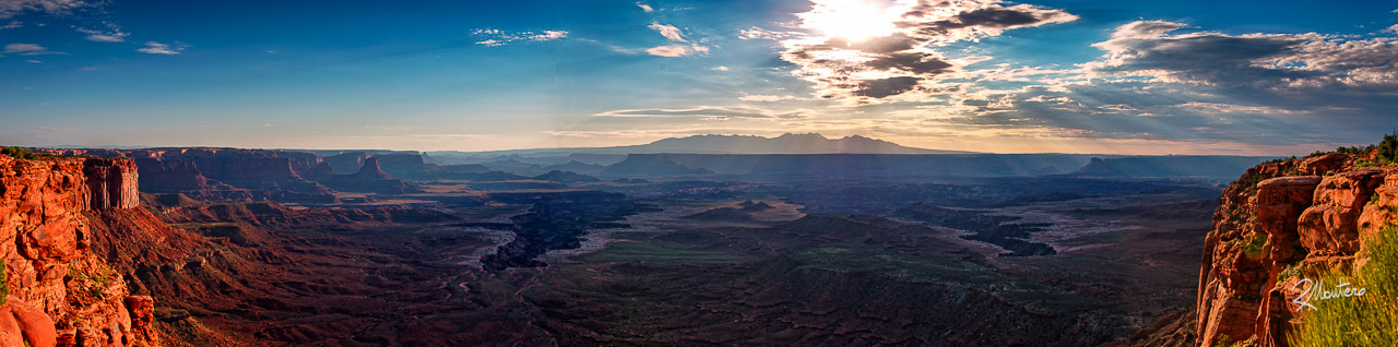 A Canyonlands Panoramic View