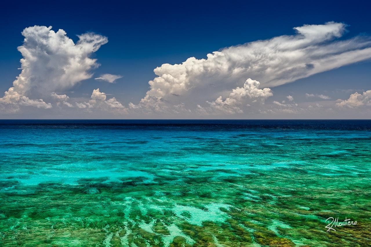 Images reborn - A rework of one of my old shot with new techniques and new ideas. This is the Caribbean Sea from the Cliffs of Isla Mujerese, in Mexico.