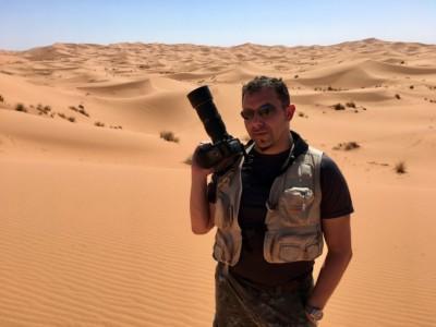 In the Sahara Desert