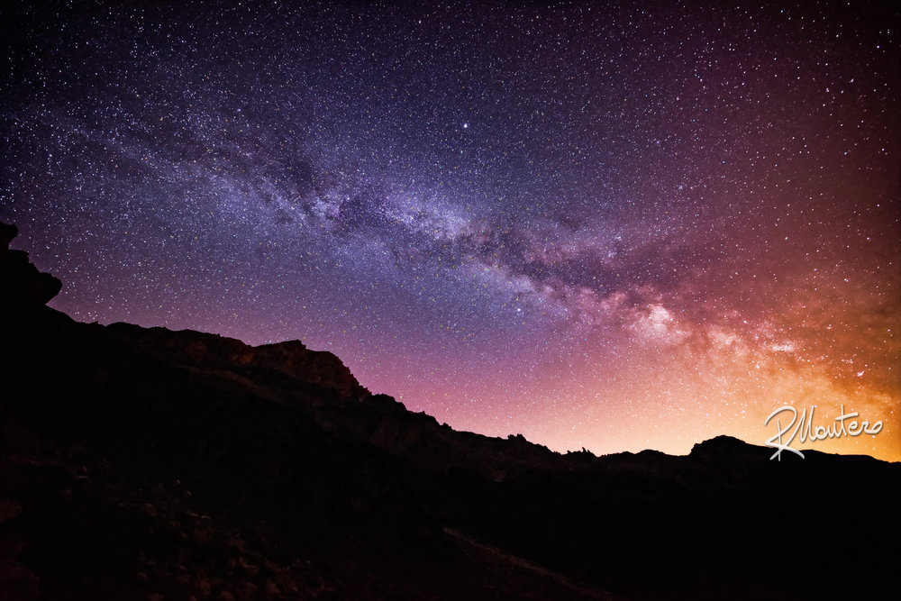 The Milky Way in all its magnificence in a dark summer night Shot with the Irix 11mm f/4