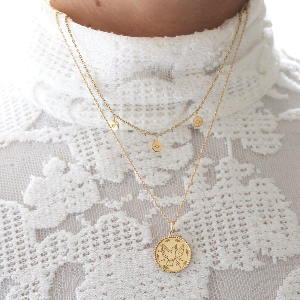 Le cadeau personnalisé idéal - Choisissez la gravure de votre choix pour créer votre bijou unique