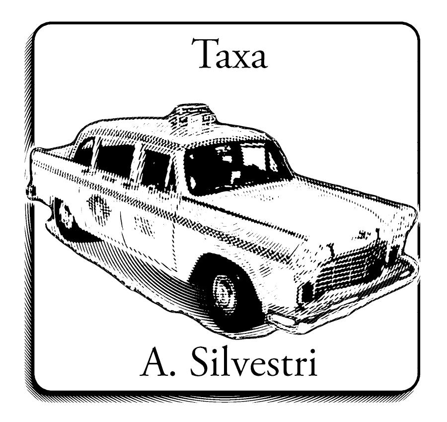 I 2015 var det tid til jubilæum. Science Fiction Cirklen udgav nemlig den tiende i deres antologieserie Lige under overfladen, og for at fejre det var hver novelle blevet udsmykket med en vignet. Min novelle Taxa fik sjovt nok en vignet med en taxa!
