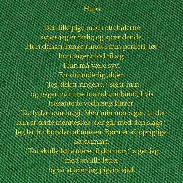 14. Haps