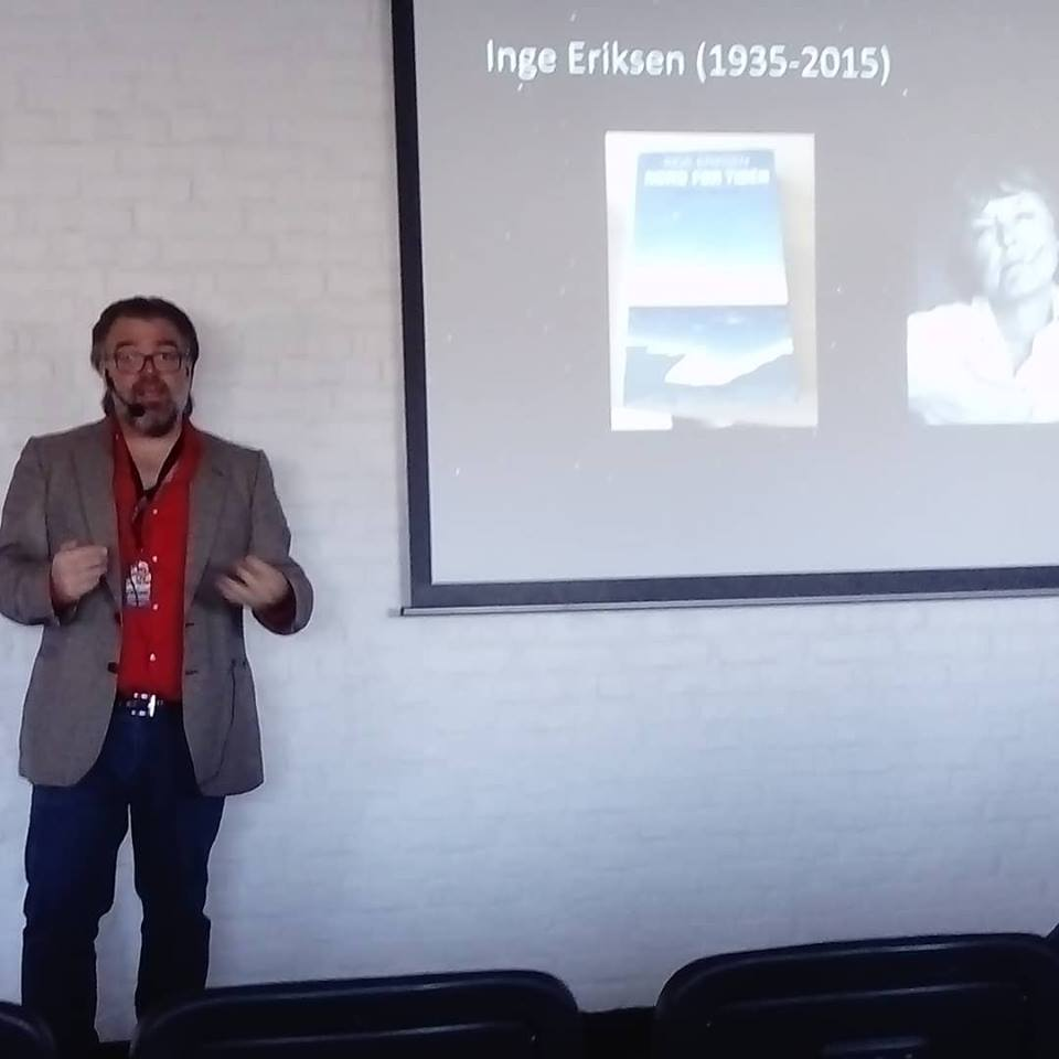 Jeg holder foredrag om dansk science fiction.
