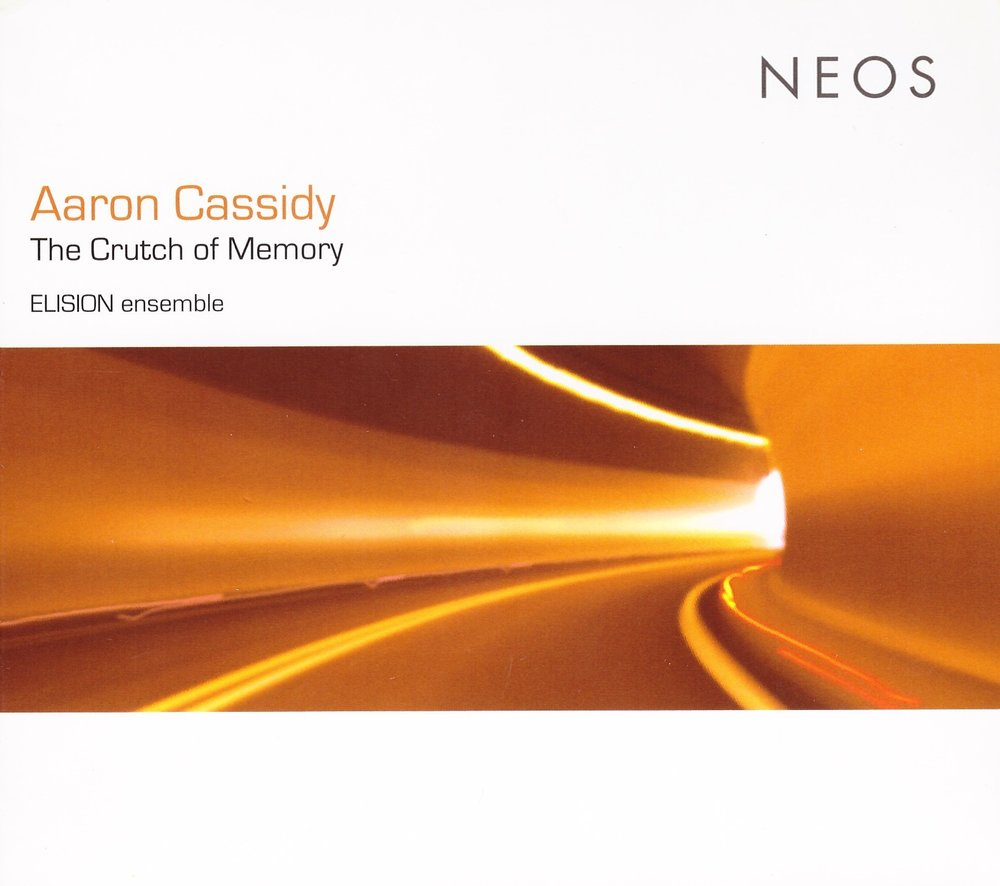 The Crutch of Memory – Aaron Cassidy & ELISION  • asphyxia – Aaron Cassidy° • Being itself a catastrophe the diagram must not create a catastrophe – Aaron Cassidy°