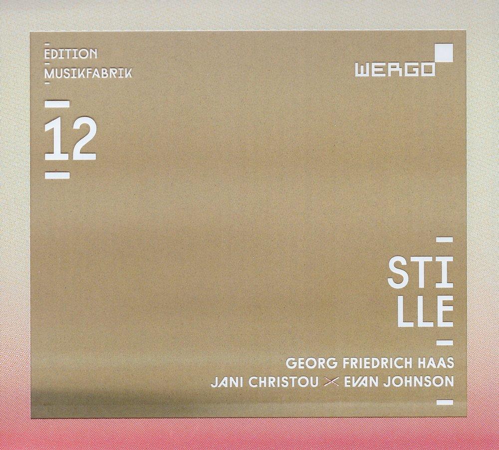 Stille – Ensemble Musikfabrik  • ich suchte aber ich fand ihn nicht – Georg Friedrich  Haas °    ORDER