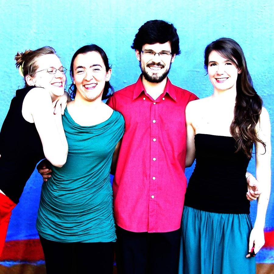 Photo Améi Quartett (L-R) Esther Saladin, Aglaya Gonzalez, Diego Ramos, Corinna Canzian © Yuka Ohta