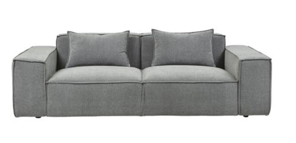 Felix Block 3 Seater Grey Mist - Globe West - $3,455.00
