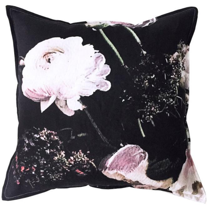 Hawtrey Midnight Linen Cushion