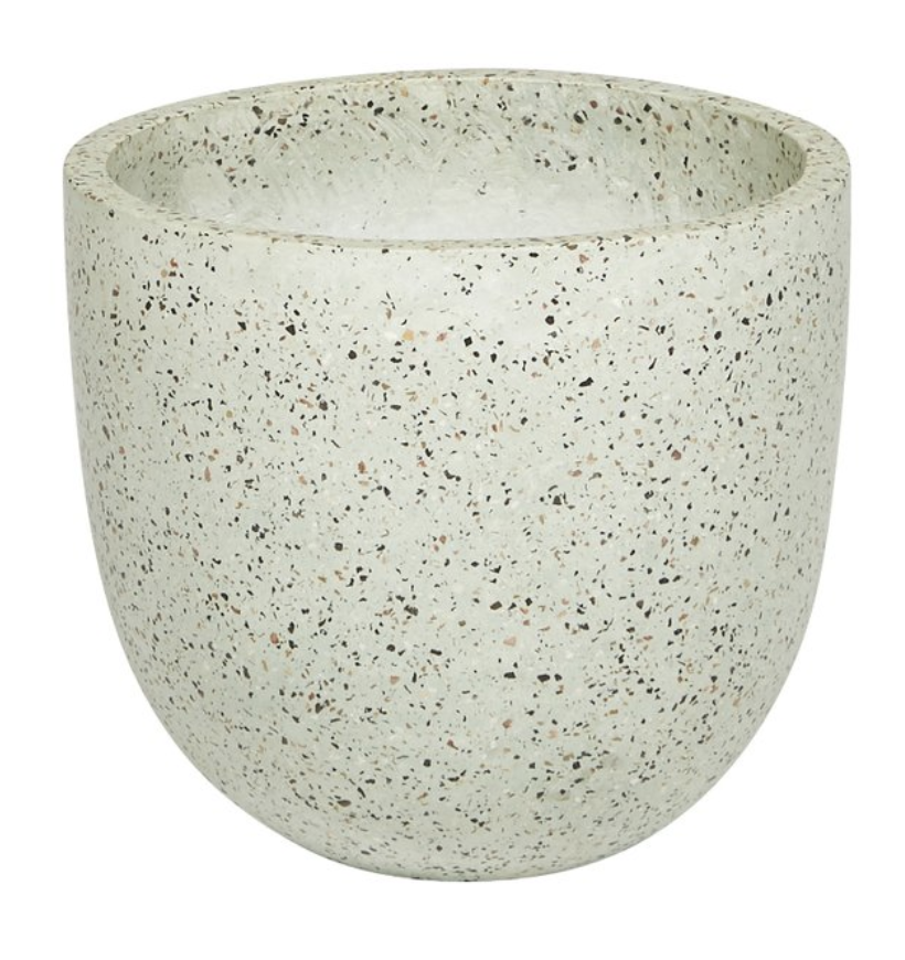 Terrazzo Pot in Cream - Fenton & Fenton