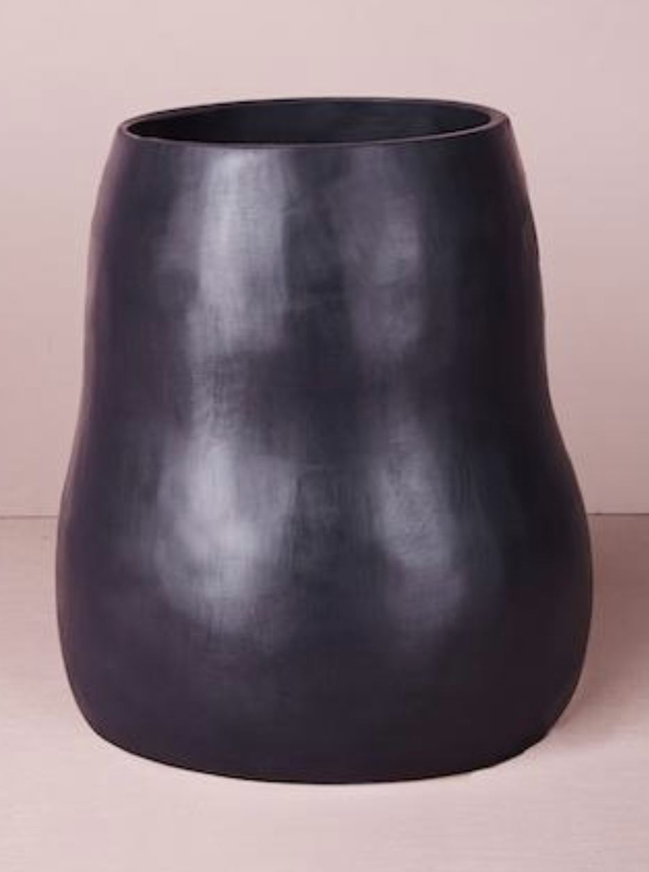 KeepResin - Large Curvaceous Vase - Slate