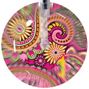 203 - Pink Paisley
