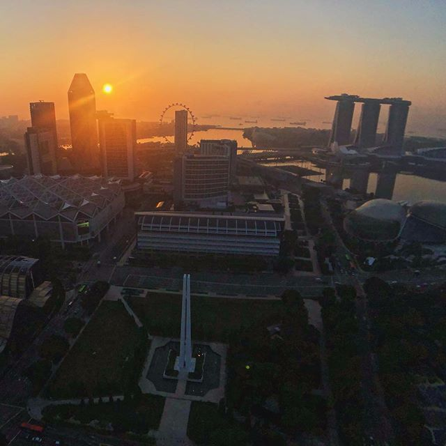 We're in ❤️ with Singapore. 🙌 This is a city that just gets better and better... Have you visited recently? 👊 Pic: @worldofleedham 🙏 . . . . . . #singaporesling #accorhotels_apac #jaansg #feelwelcome #swissotelthestamford #sofitelsingaporesentosa #qantas #qantasairways #qantastravelinsider #PassionMadePossible #VisitSingapore #karryontravel #Singapore #cocktailporn #travel #travelblogger #karryontravel #barrougesingapore #sunrise #sunset #marinabaysands #travel #travelphotography #travelblogger #travelling #traveller