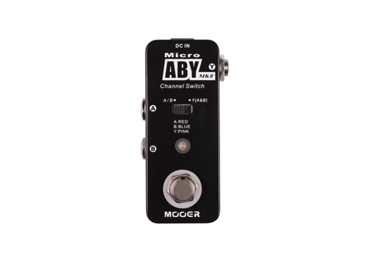Mooer ABY MK2 Channel Switch Pedal Click For More Info