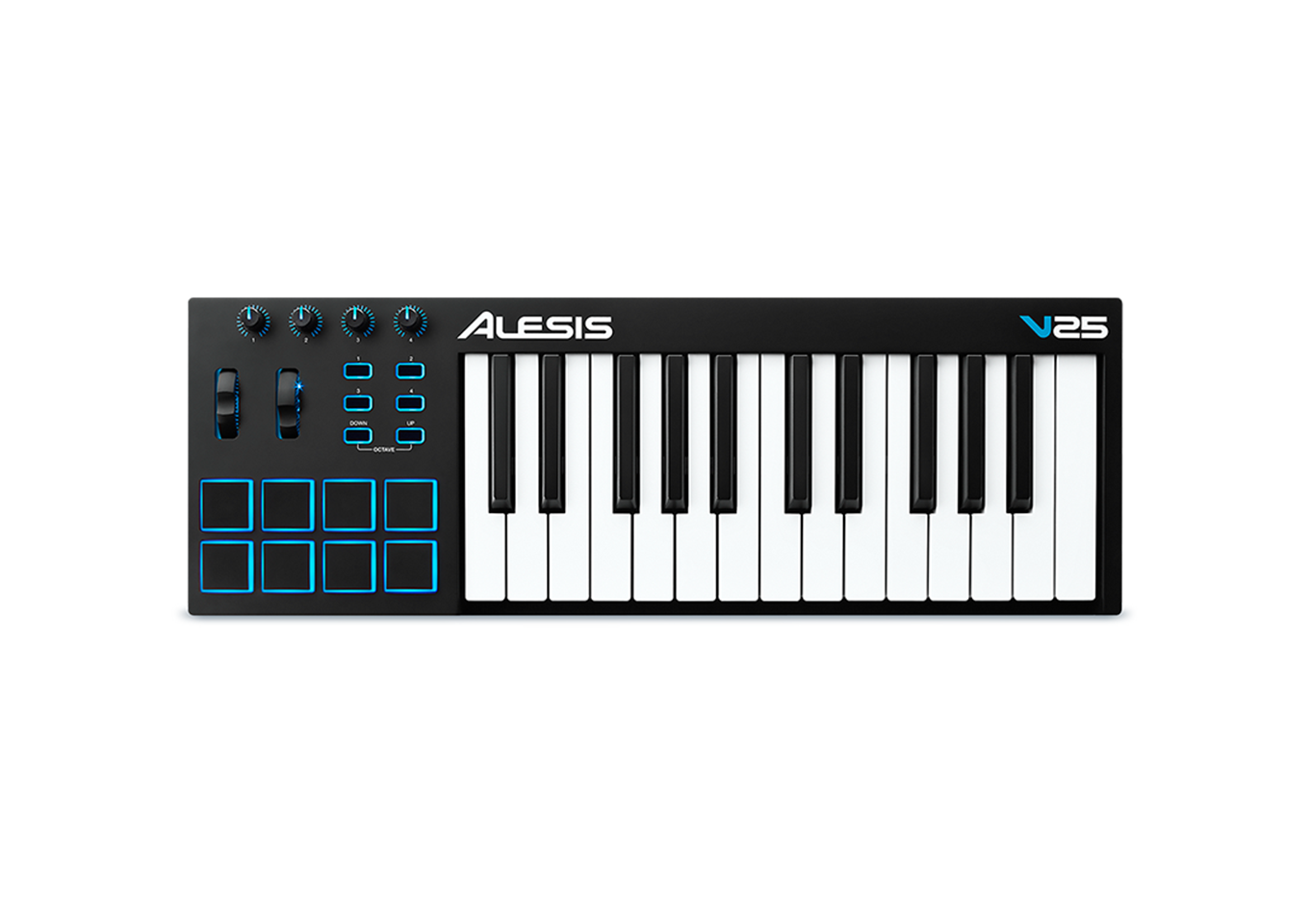 Alesis V25 USB-MIDI Keyboard Controller: Click for more info