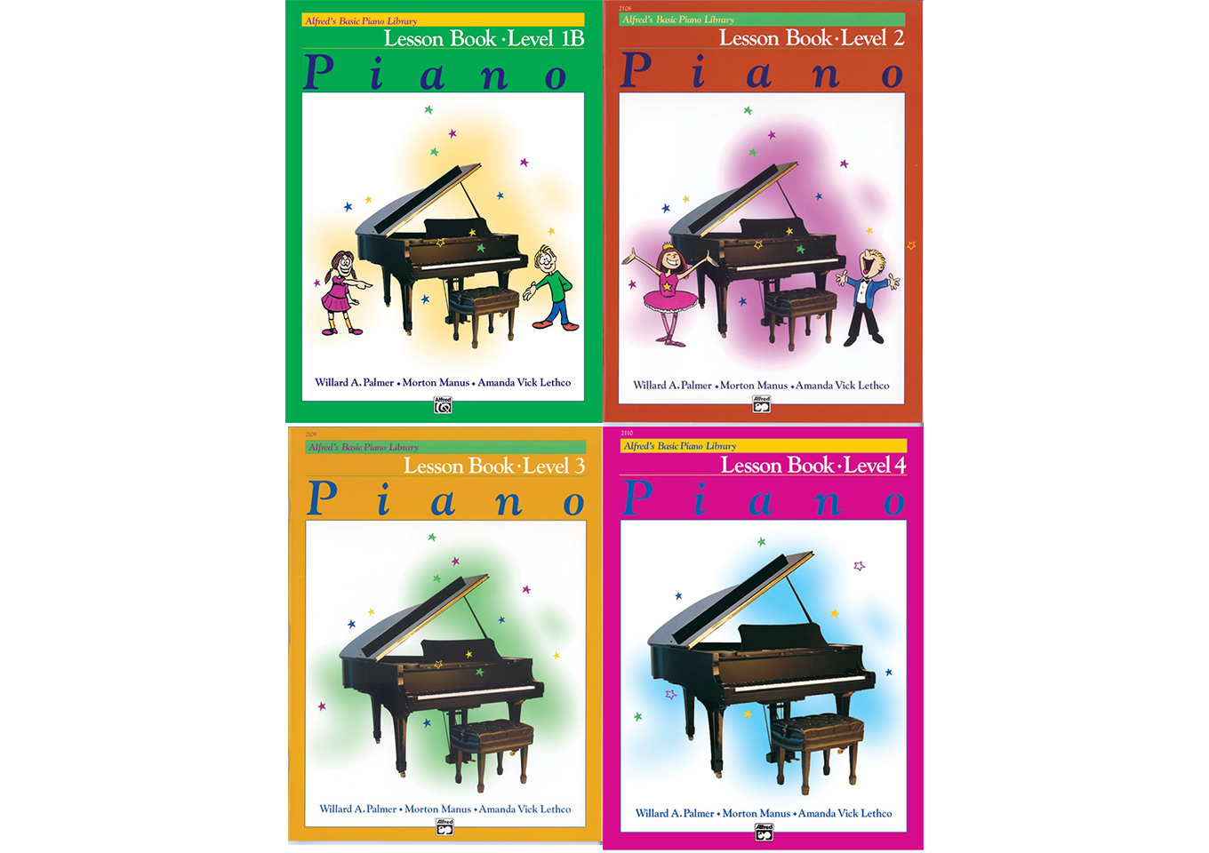 Alfred's Basic Piano Library Lesson Books - All Levels