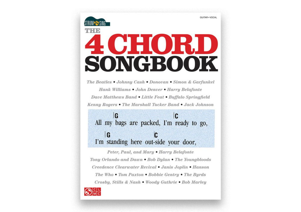 Strum & Sing The 4 Chord Songbook — Music Corner North