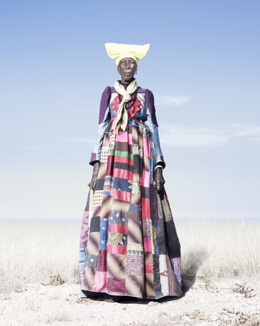 A Herero woman from Namibia. Photographer Jim Naughten,   http://www.jimnaughten.com/project/hereros/
