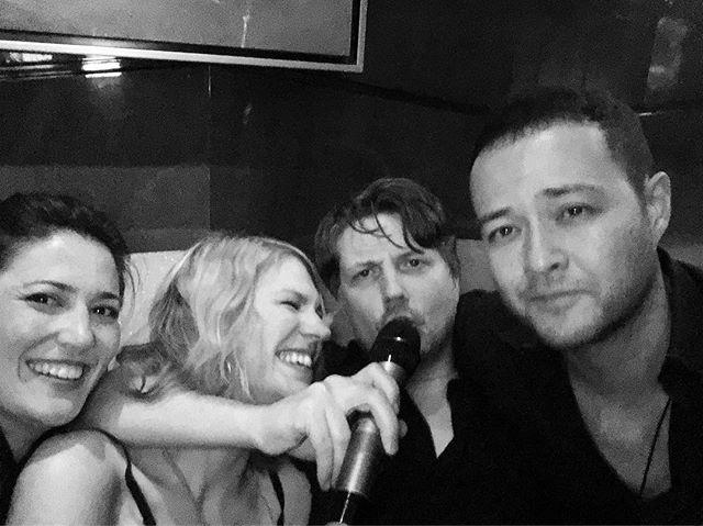 Post gig karaoke #AllTheSongsAreInMandarin #DontKnowManyOfThem #MavenGraceInChina