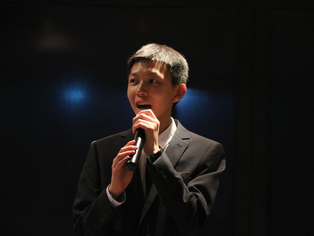 Alex Yu, President (Designate)