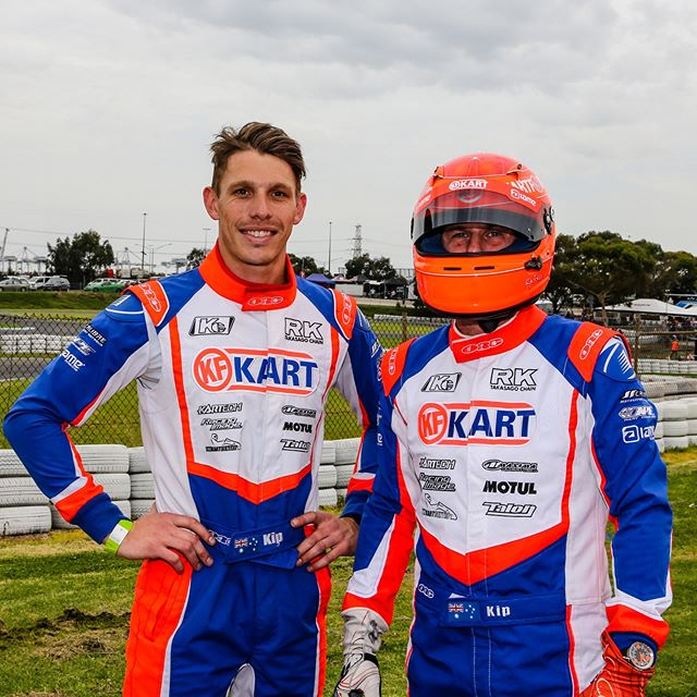 The Enduro event at Todd Rd last weekend was an absolute blast!  To team up with this guy and qualify on pole position against the best drivers in Aus was a buzz! We both had almost identical lap times in qualifying too... 48.226 & 48.232 😎  We drove a great race, keeping out of trouble with strong race pace. It was unfortunate the timing of our pitstops and cautions just didn't quite go our way, finishing up 4th after looking in contention for the win 🏁  A massive thanks to our gun mechanics, Matt Parker and Henry and Mark Johnstone for all of their help, couldn't have done it without these legends!  Already looking forward to next years event and will be back faster and stronger! ✌🏼| #calibremotorsport @kf_kart