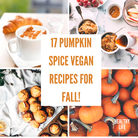 17 Pumpkin Spice Vegan Recipes for Fall! social media.png