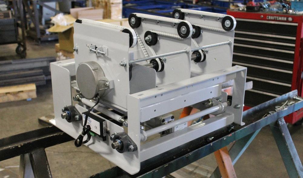 easy to integrate belt transfer material handling