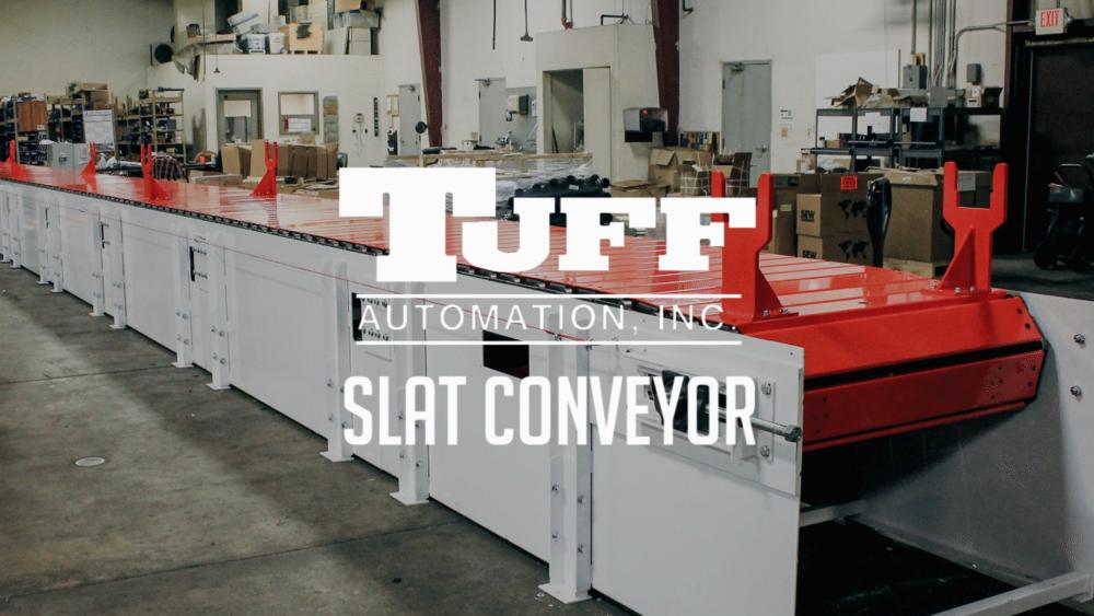 slat conveyor bastian solutions axels material handling