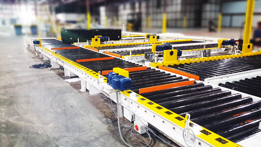 Tuff Automation Custom Material Handling Solutions — Tough Problems