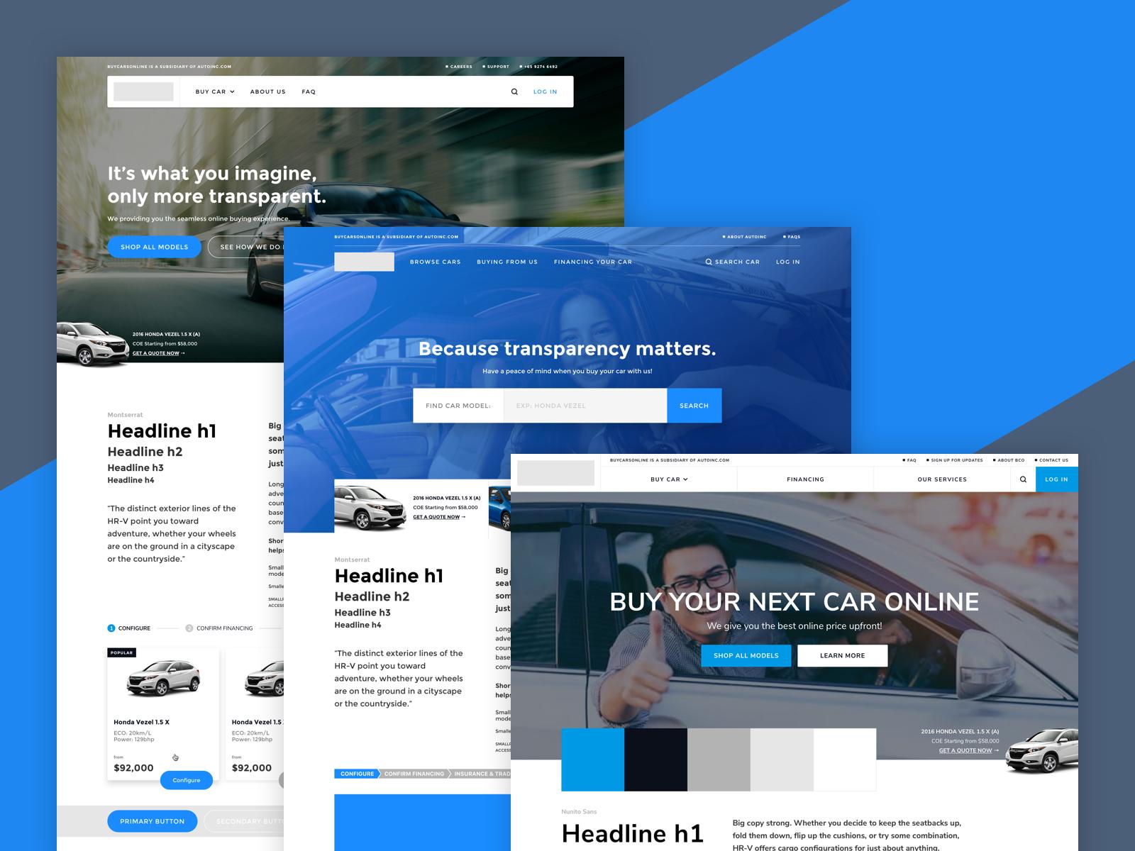 Online Car Buying Portal [WIP] — Yap Kwang Yik