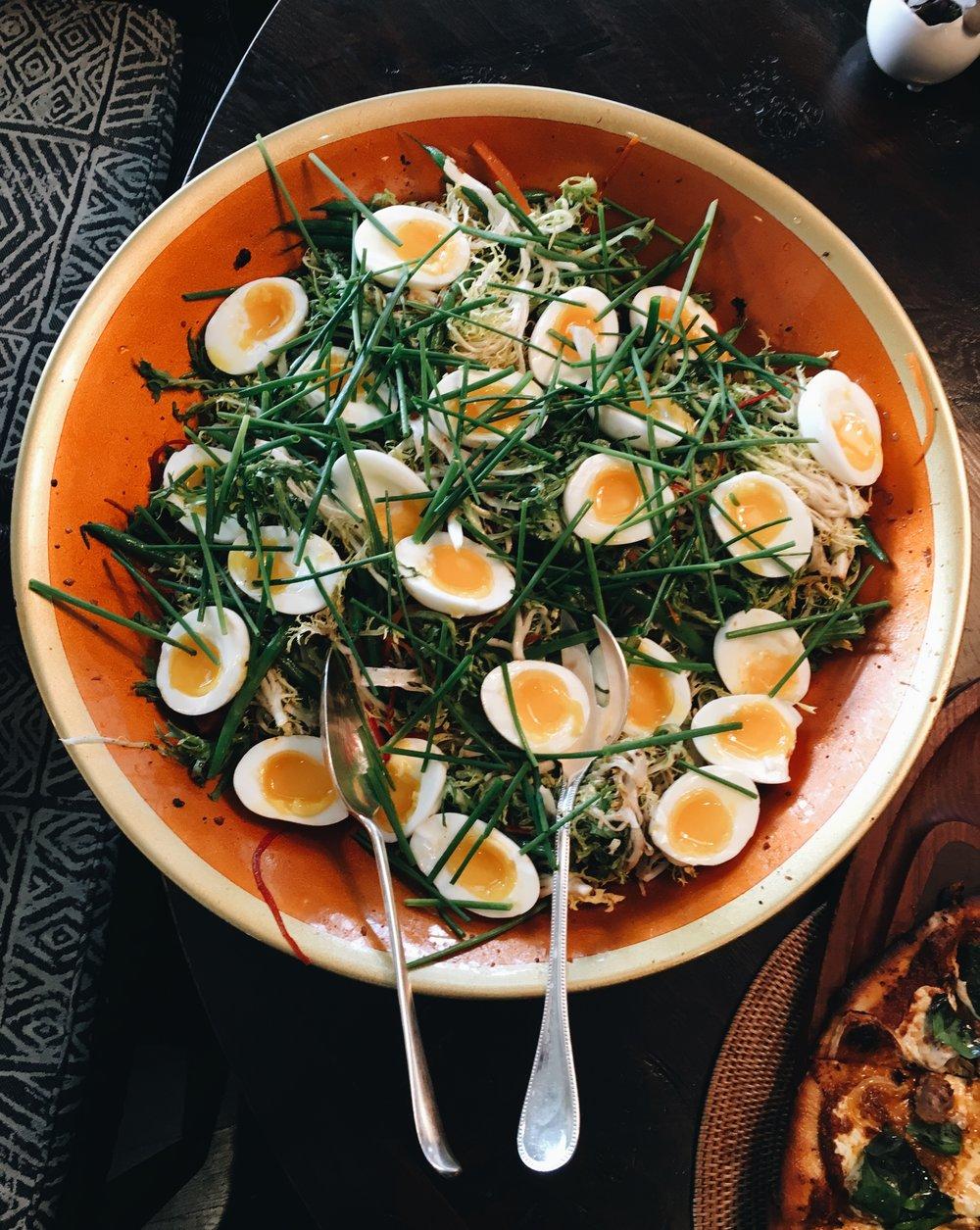 Frissee Lardon Salad