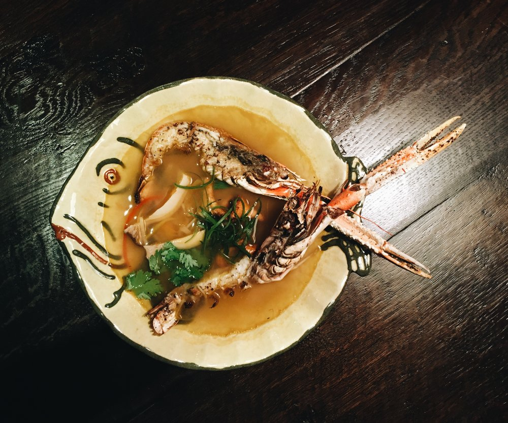 Langoustine Tom Yum Soup