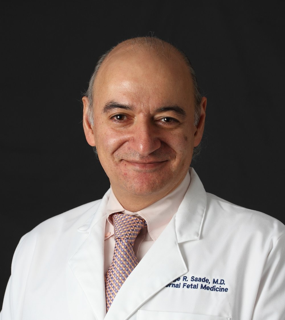 Dr. George Saade, Professor and Director of the Division of Maternal-Fetal Medicine at UTMB.