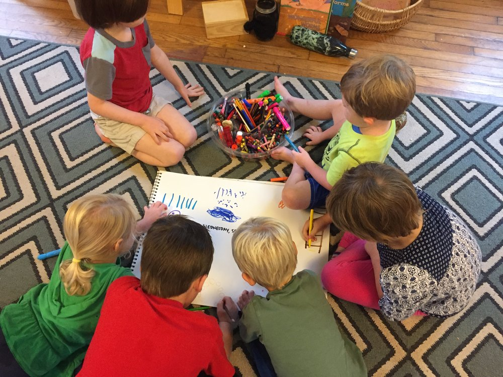 8 Reasons To Try Whole-Group Journaling With Your Early Childhood Students