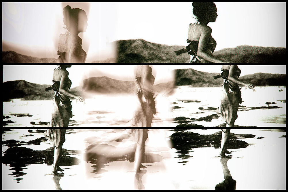 CostaRica-Sepia-Triptych-  Beach-Mermaid.jpg
