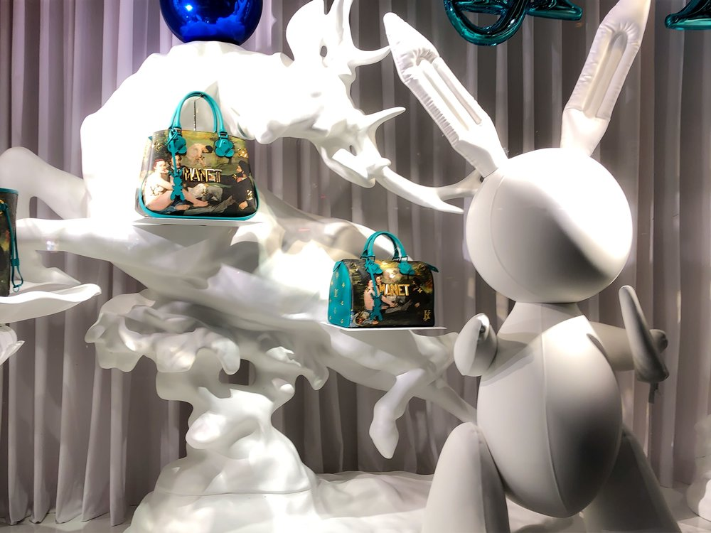 Jeff Koons - and Louis Vuitton