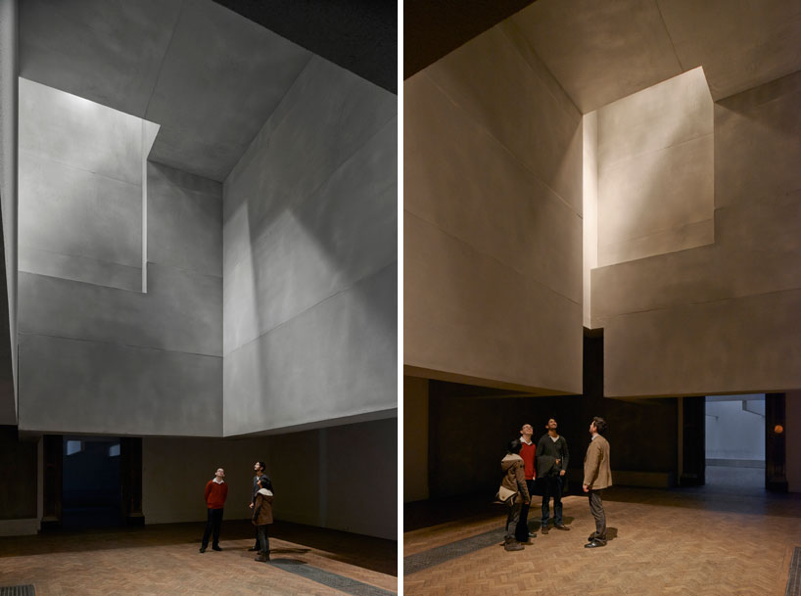 Grafton Architects, Sensing Spaces: Architecture Reimagined (2014) Photos by James Harris © Royal Academy of Arts.