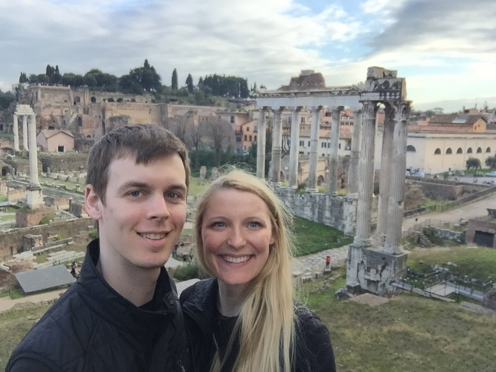 The day we decided we wanted travel for a living; Rome, Italy