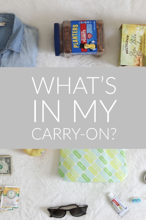 What's In My Carry-On?