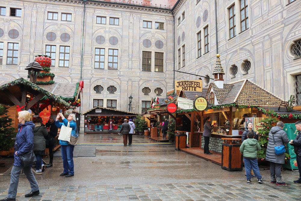 Munich's Residence Christmas Market