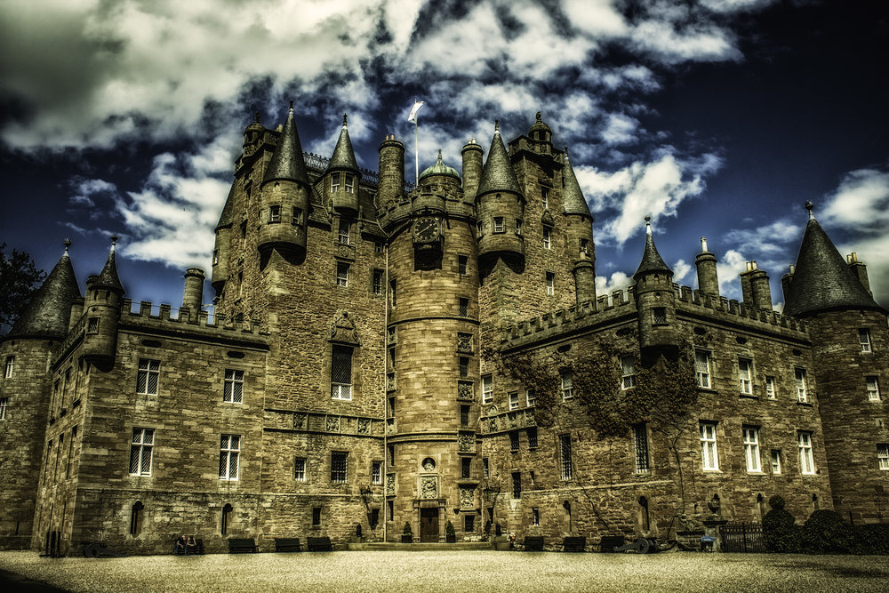 Glamis Castle   Photography / Photo Edit