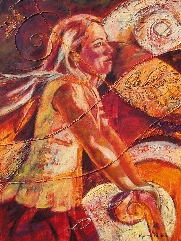 Tourbillon de vie - L750 x H1000 cm