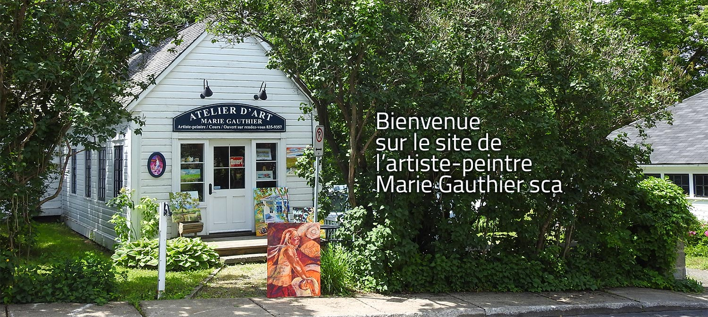 Marie gauthier artiste peintre