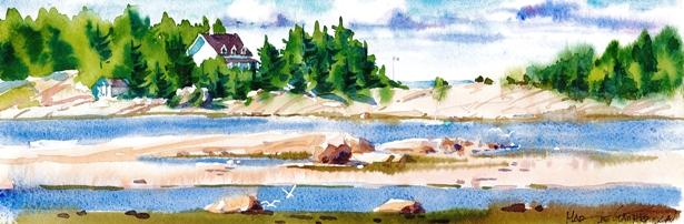 Métis-Beach 35x18 225$
