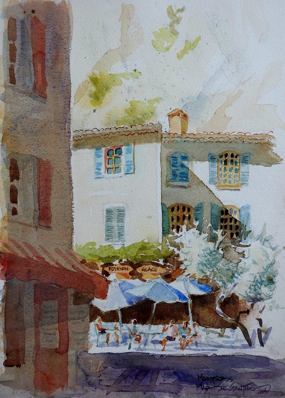 Moustiers Saint-Marie Le Café
