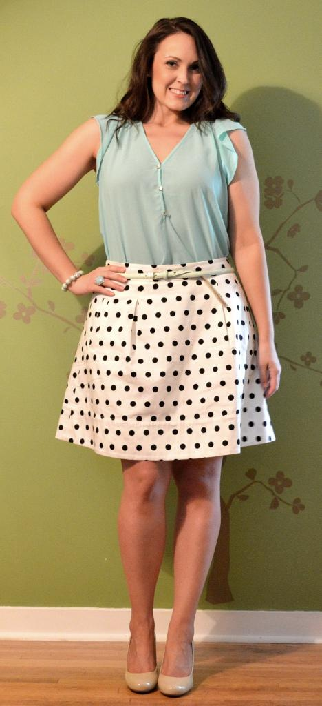 mint polka dot good 2