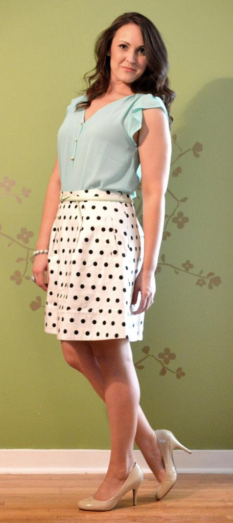 mint polka dot good 3