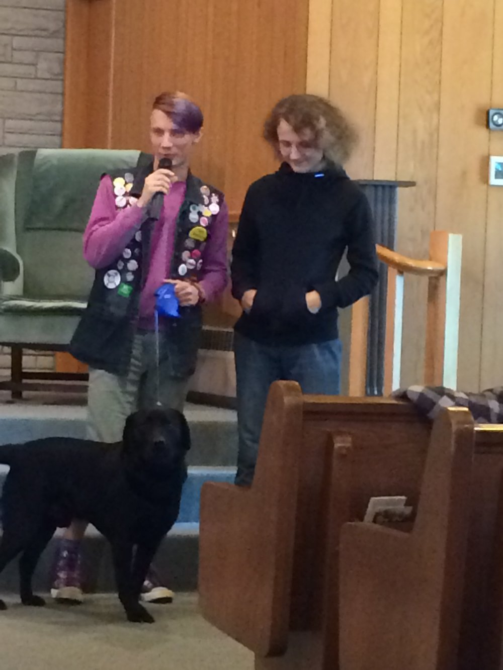 Animal Blessing Teens.JPG