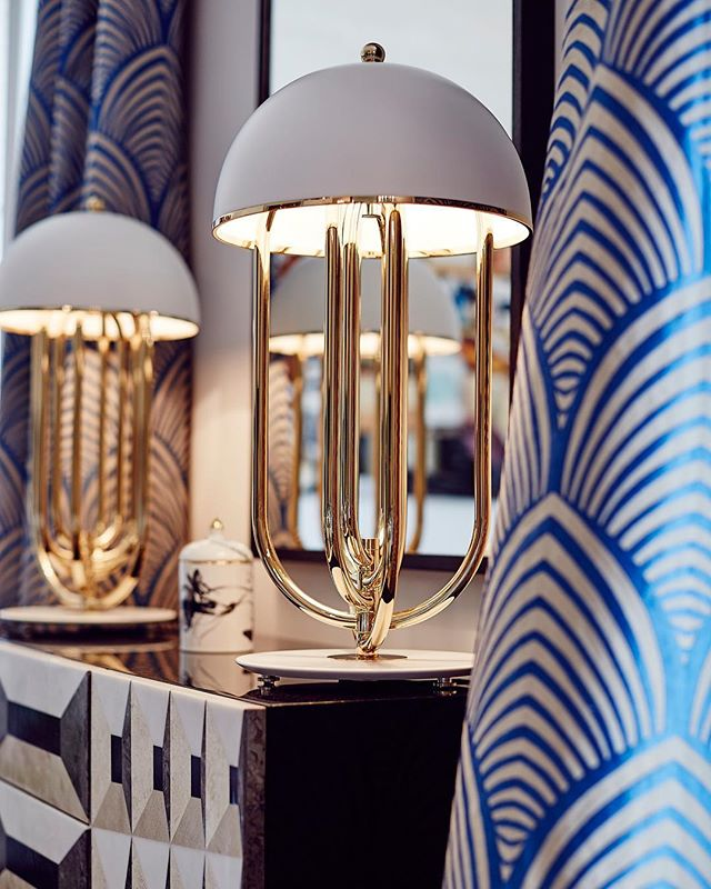 Turner table lamp an Art Deco table lamp hand made with brass detailing. Also available in black. Currently limited quantities are in stock. . . . . #luxuryhomes #luxurylighting #luxurydesigns #elledecor #interiordesign #interior125 #interior123 #designerhome #interiordesigner #interiordecorating #interiorismo #interiors #luxedecor #luxeathome #worldofinteriors