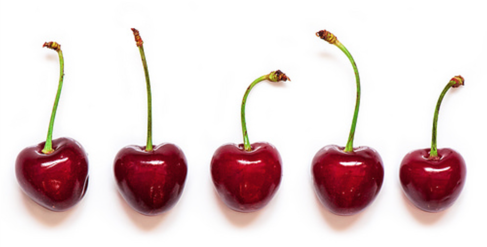 Five cherries